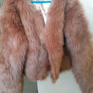 Next faux fur jacket